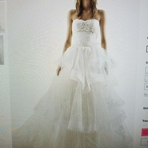 New Vera Wang wedding dress